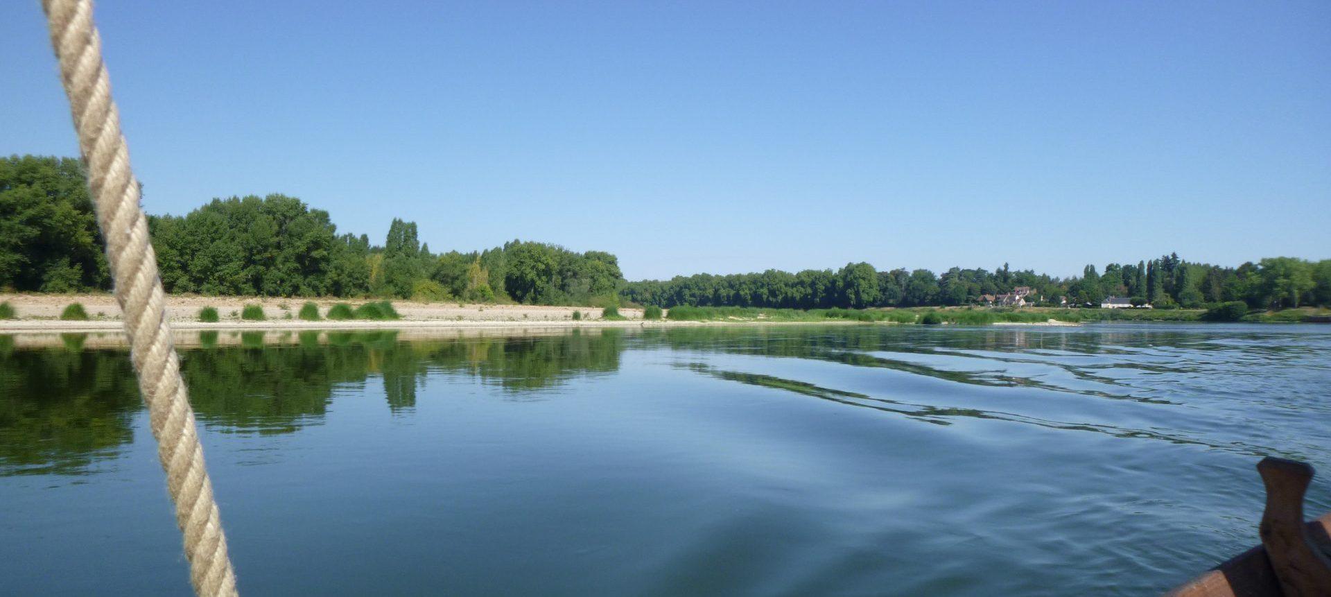 balade en bateau sur la Loire à Châteauneuf-sur-Loire