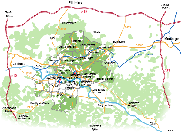 How To Get To Chateauneuf Sur Loire And Jargeau