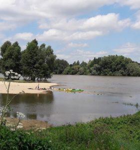 faire du canoë sur la Loire à Jargeau