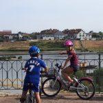 parcourir la Loire à vélo jargeau châteauneuf-sur-Loire