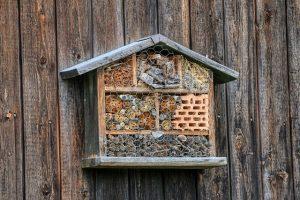 abri à insectes à la Maison de Loire du Loiret
