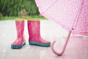 on s'amuse même si il pleut