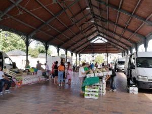 marché le mercredi après-midi à Jargeau