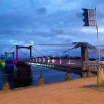 pont et lumières à Châteauneuf-sur-Loire