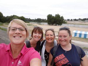 randonnée pédestre en bord de Loire