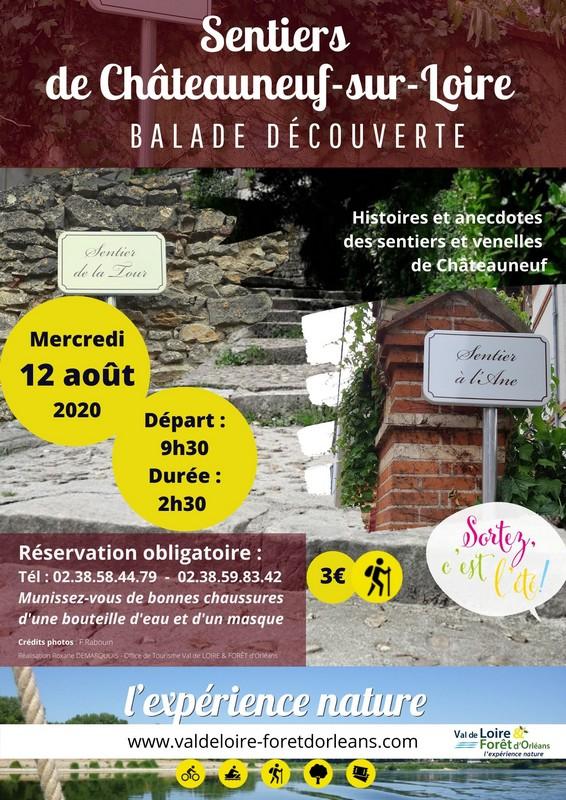 visite des venelles de châteauneuf-sur-Loire