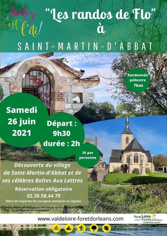 randonnée pédestre à Saint-Martin d'Abbat