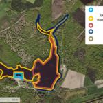 Plan de baignade à l'étang de la vallée