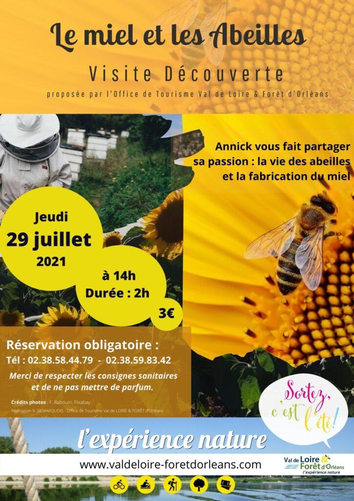 miel et apiculture à Tigy