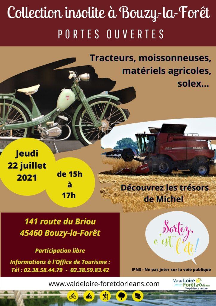 collection insolite à Bouzy-la-Forêt