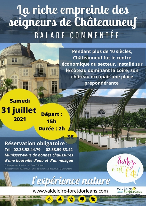 la riche empreinte des seigneurs de Châteauneuf-sur-Loire