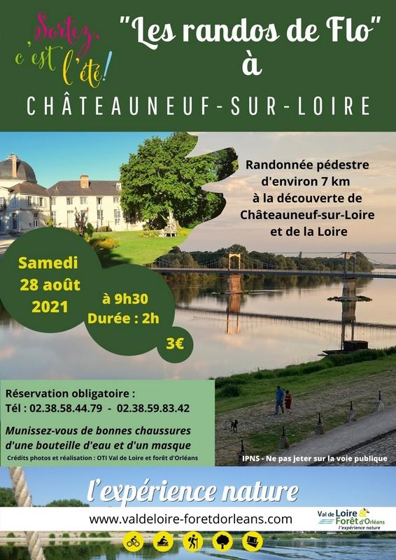 La rando de Flo à Châteauneuf-sur-Loire