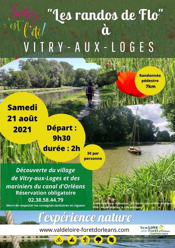 La rando de Flo à Vitry-aux-Loges